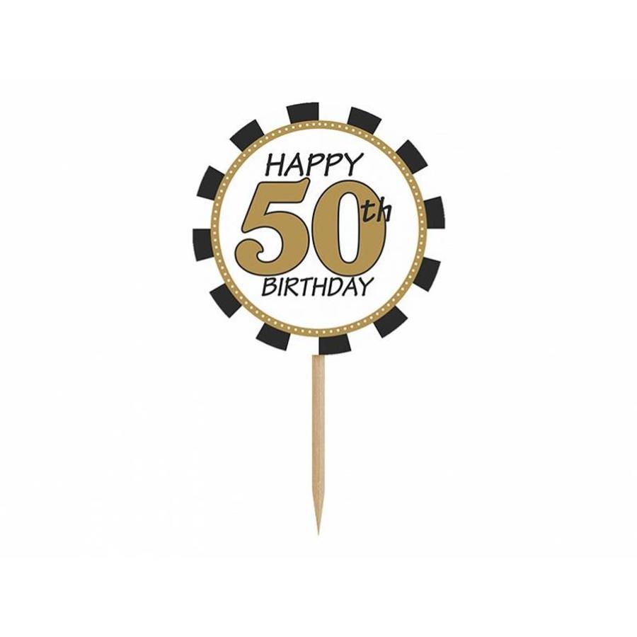 Cupcake topper 50-4