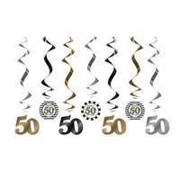thumb-Suspensions 50 Ans or (7 pcs)-1