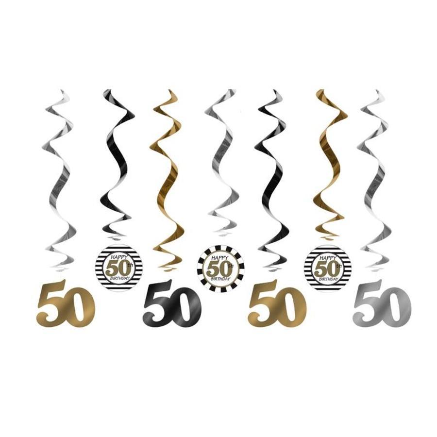 Suspensions 50 Ans or (7 pcs)-1