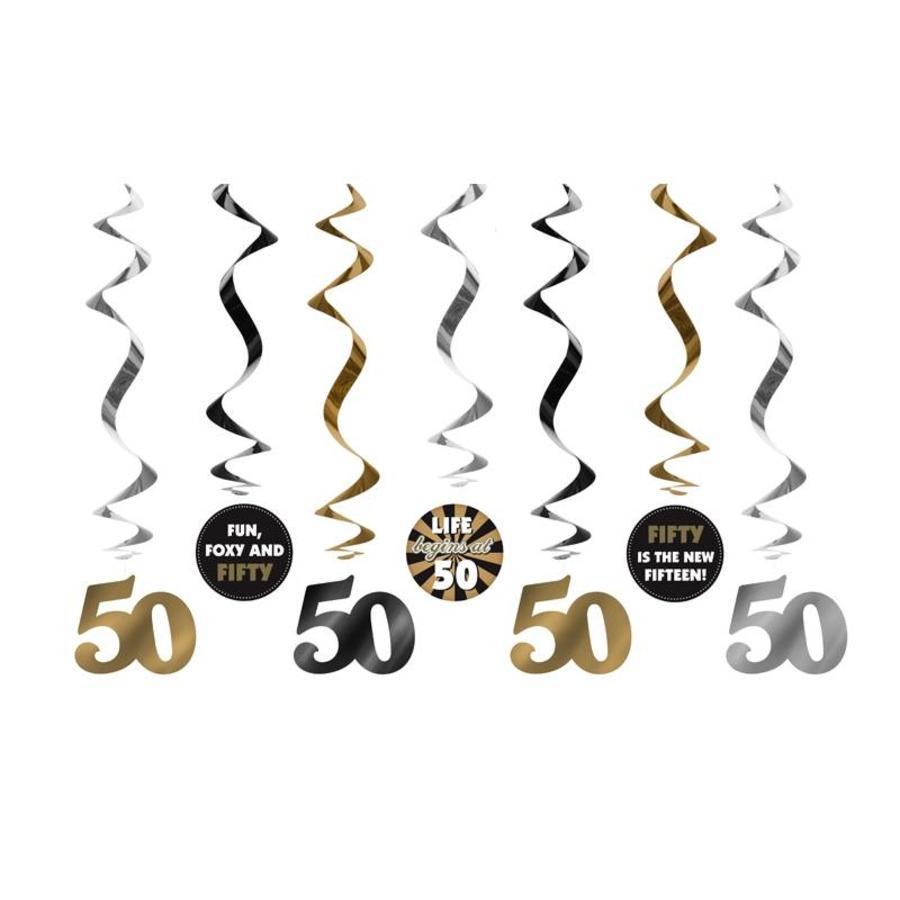 Suspensions 50 Ans or (7 pcs)-2