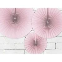 thumb-Papieren waaiers roze (3 stuks)-4