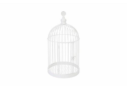 Enveloppendoos vogelkooi wit