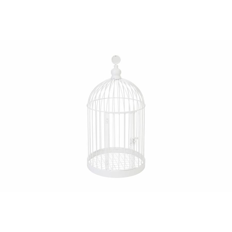 Tirelire cage blanc-1