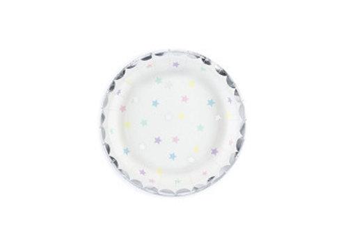 Assiette étoile (6 pcs)