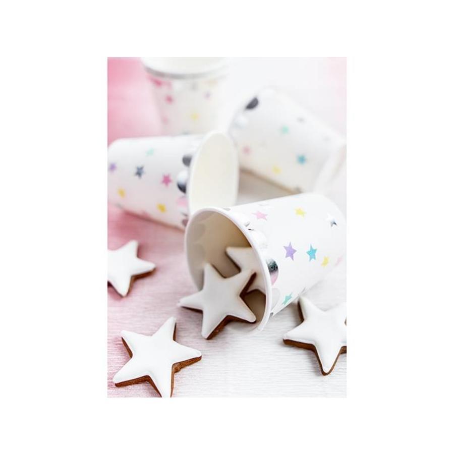 Bekertje ster(6 stuks)-2