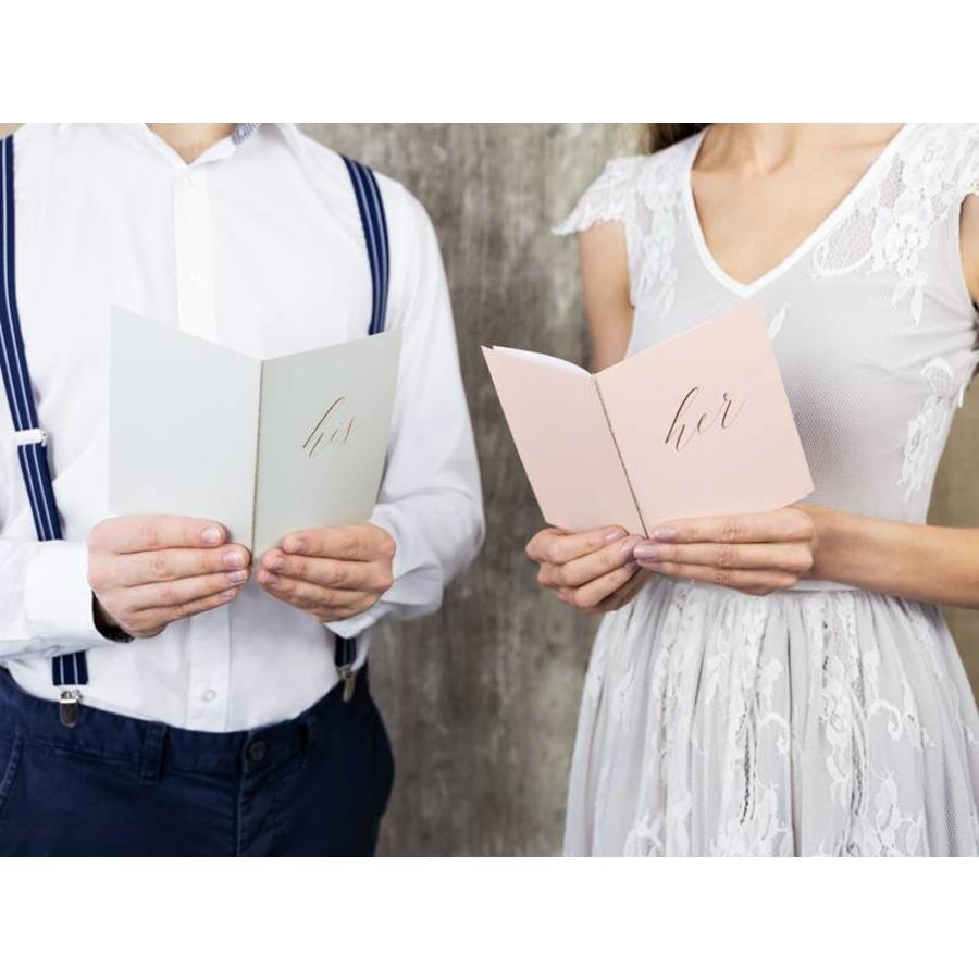"Livre Voeux Mariage ""His and Hers""-2"