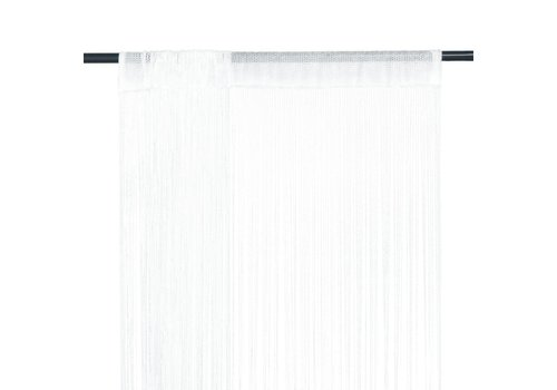 Rideaux fils blanc (location)