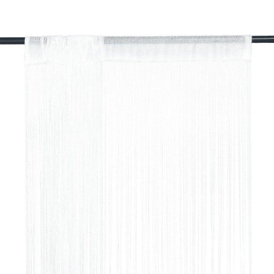 Draadgordijn wit (verhuur)-1