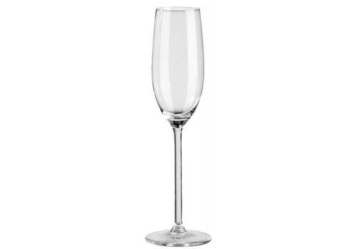 Champagne glas 21 cl (verhuur)