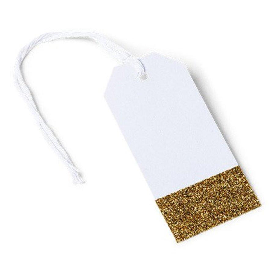 Naamkaartje label goud (8 stuks)-1