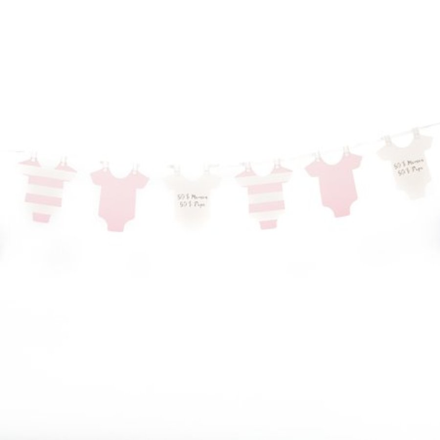 Slinger rompertjes baby roze-1