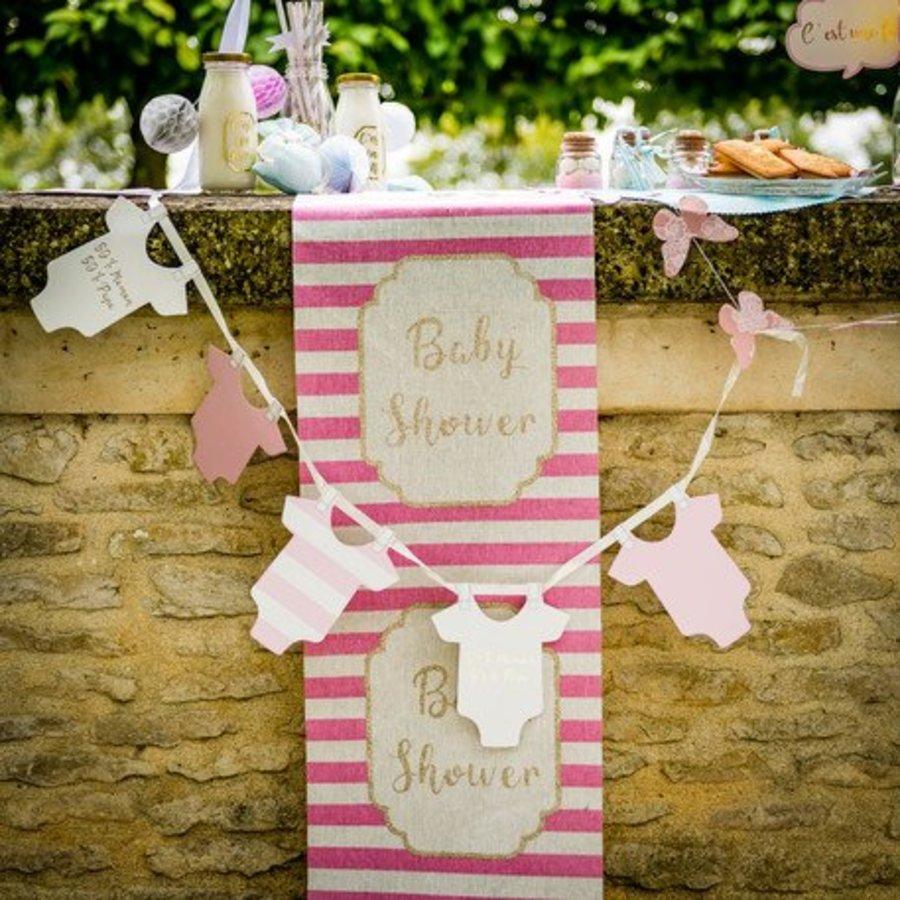 Slinger rompertjes baby roze-4