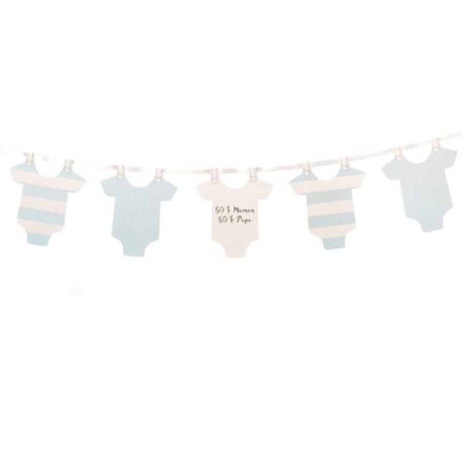 Slinger rompertjes baby blauw-1