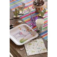 thumb-Serviette en papier lama (20 pcs)-3