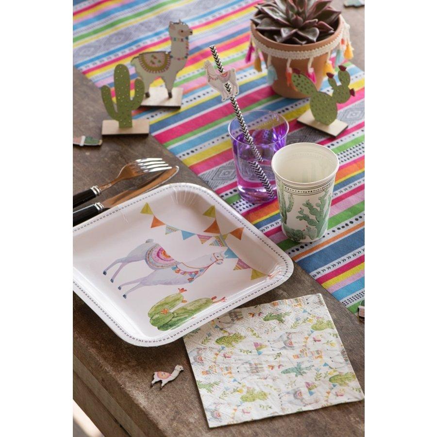 Serviette en papier lama (20 pcs)-3