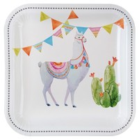 thumb-Assiette lama (10 pcs)-1