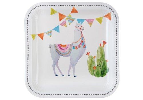 Assiette lama (10 pcs)