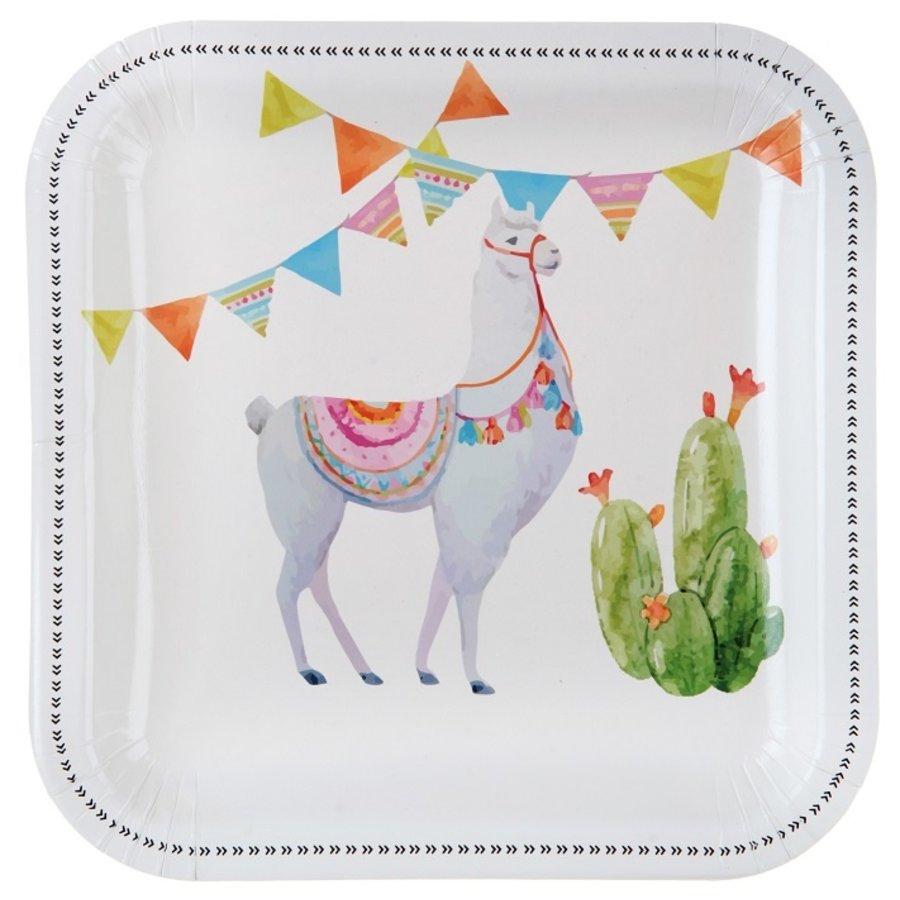 Assiette lama (10 pcs)-1