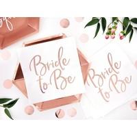thumb-Servet Bride to be rose (20 stuks)-4