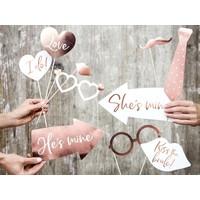 thumb-Photo props wedding rosé (12 pcs)-2