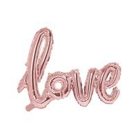 thumb-Folieballon rose love-1