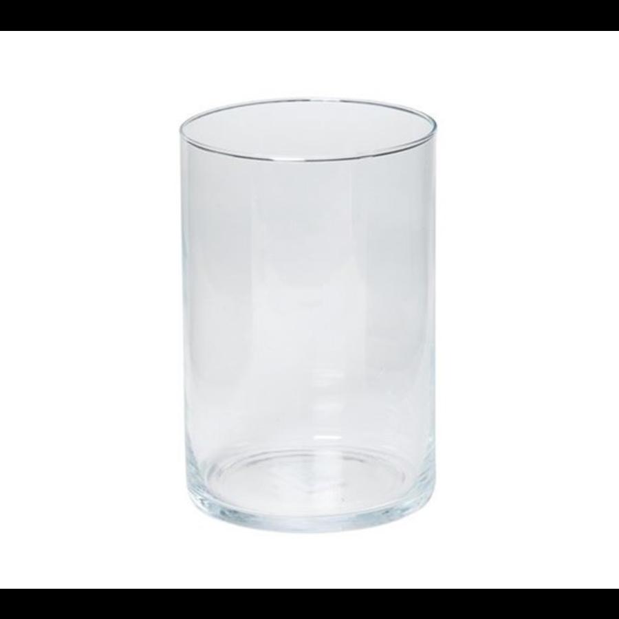 Cilinder vaas 20 cm (verhuur)-1