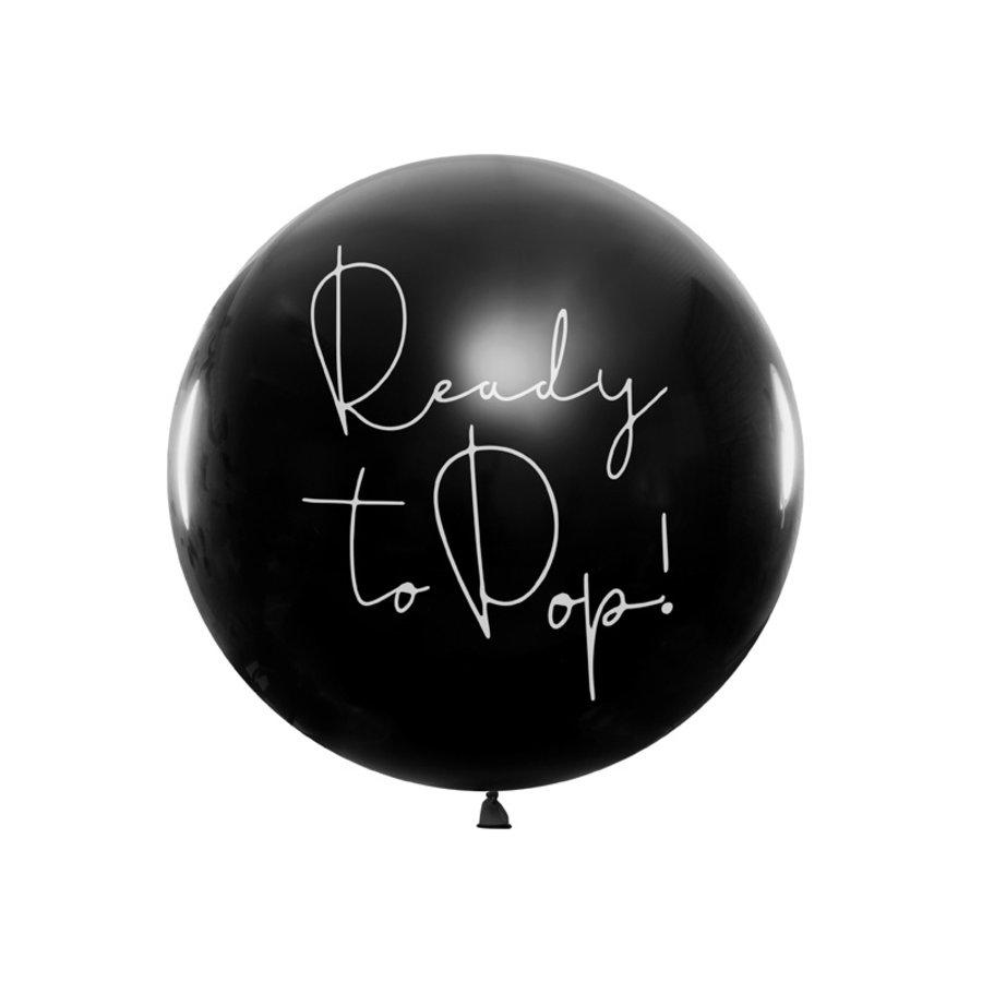 Ballon ready to pop bleu-1