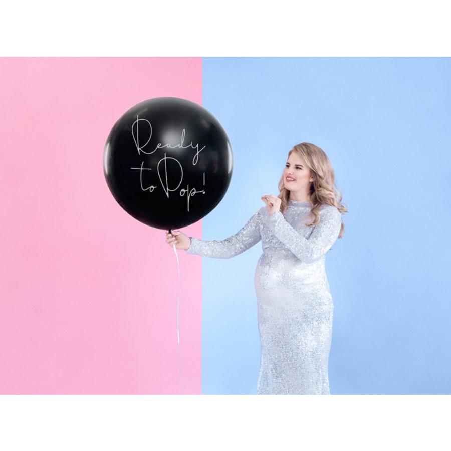 Ballon ready to pop bleu-4