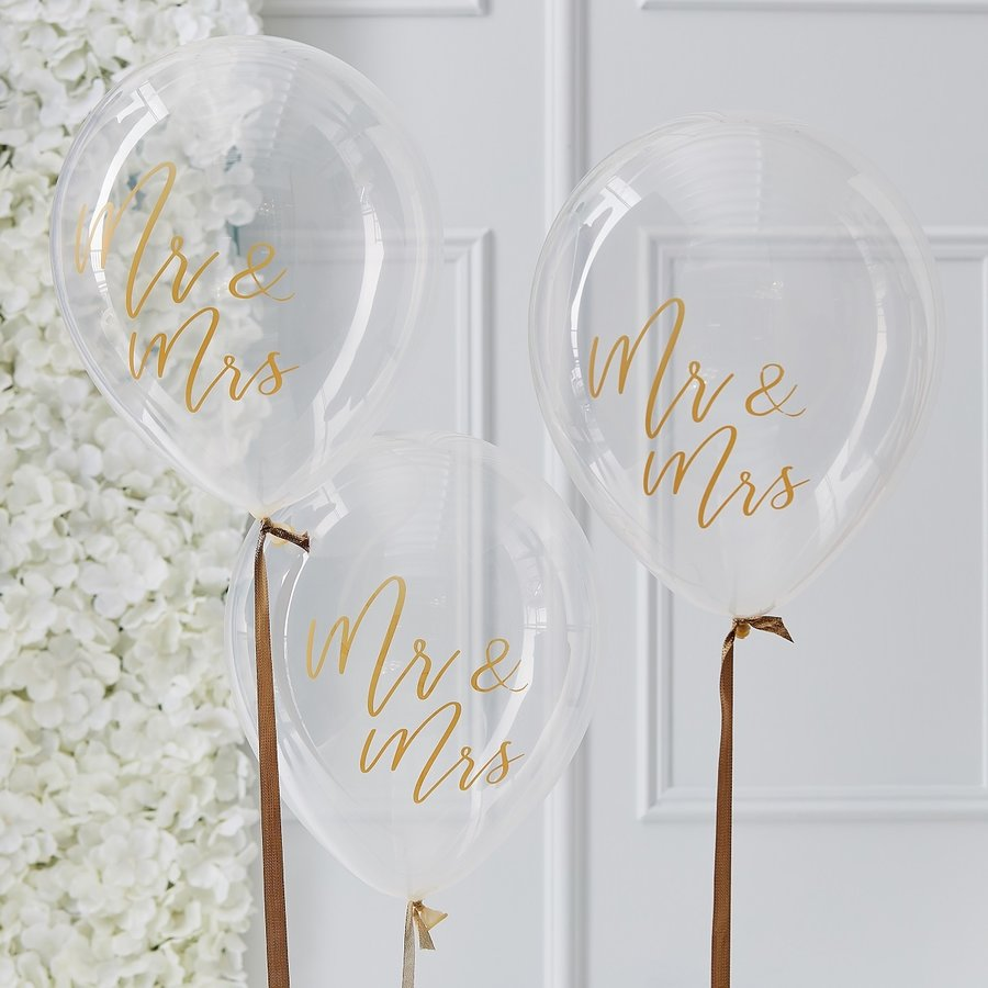 Ballon Mr en Mrs (5 stuks)-1