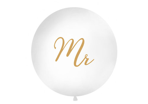 Ballon géant Mr and Mrs