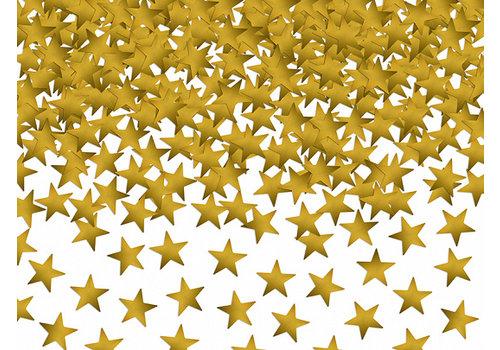 Confettis étoiles dorés pailletés