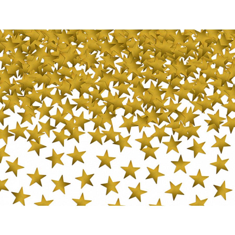 Confettis étoiles dorés pailletés-1