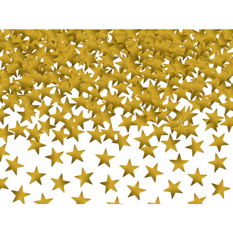 Tafelconfetti goud sterretjes-1