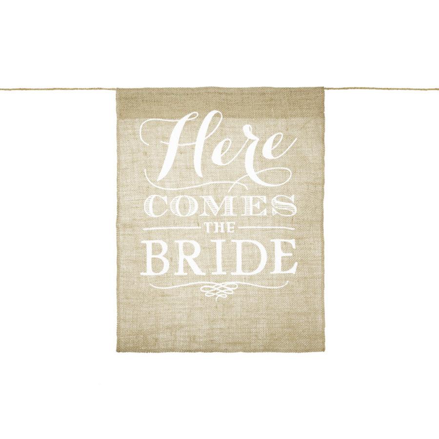Vaandel Here comes the bride!-1
