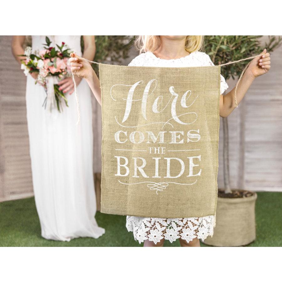 Vaandel Here comes the bride!-3