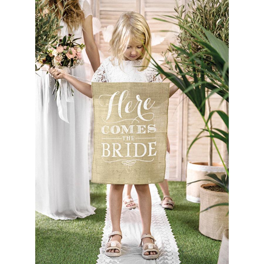 Vaandel Here comes the bride!-2
