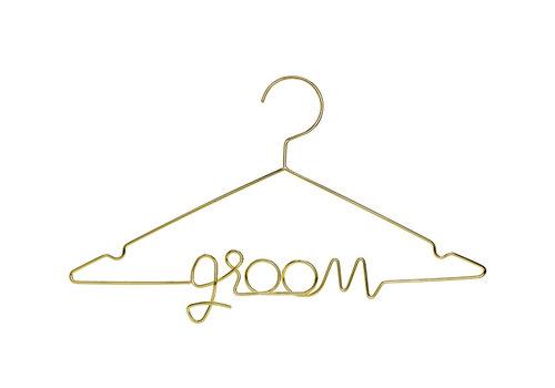 Cintre Groom d'or