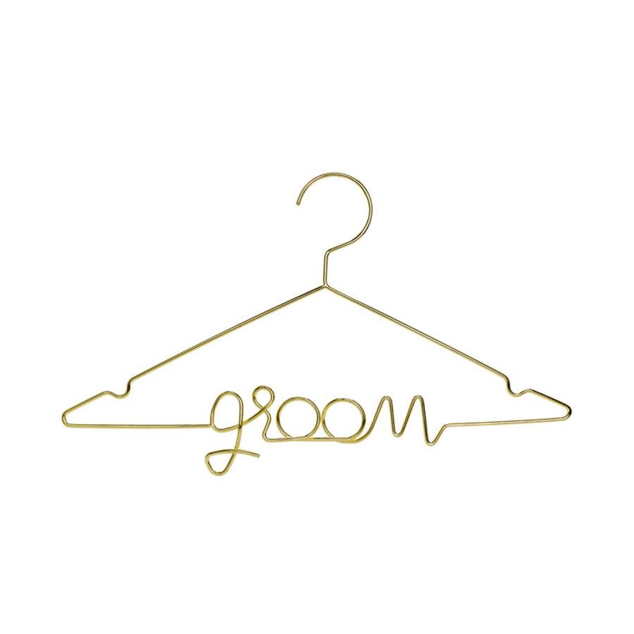 Kledinghanger groom goud-1