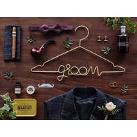 thumb-Cintre Groom d'or-3