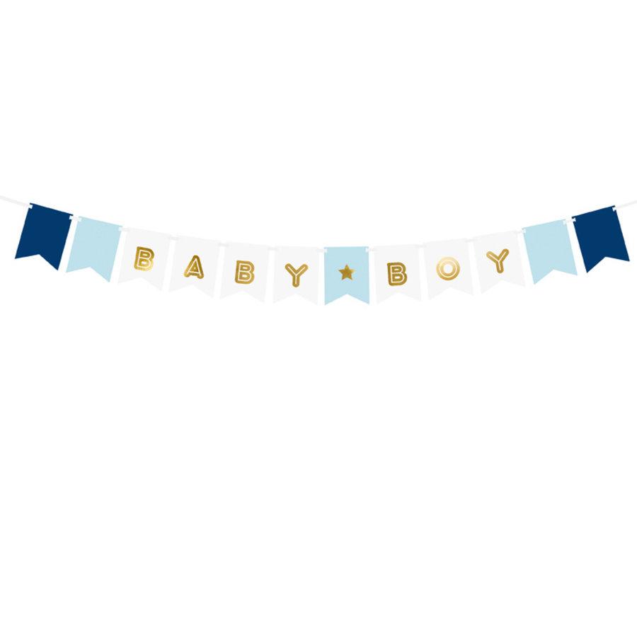 Slinger baby boy blauw-1