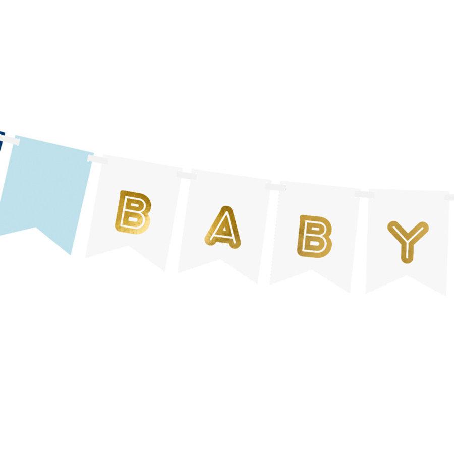 Slinger baby boy blauw-2