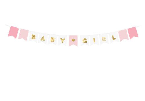 Slinger baby girl roze