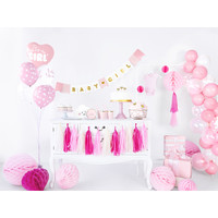 thumb-Ballons its a girl rose (6 pièces)-2
