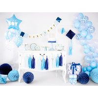 thumb-Ballonen its a boy blauw (6 stuks)-2