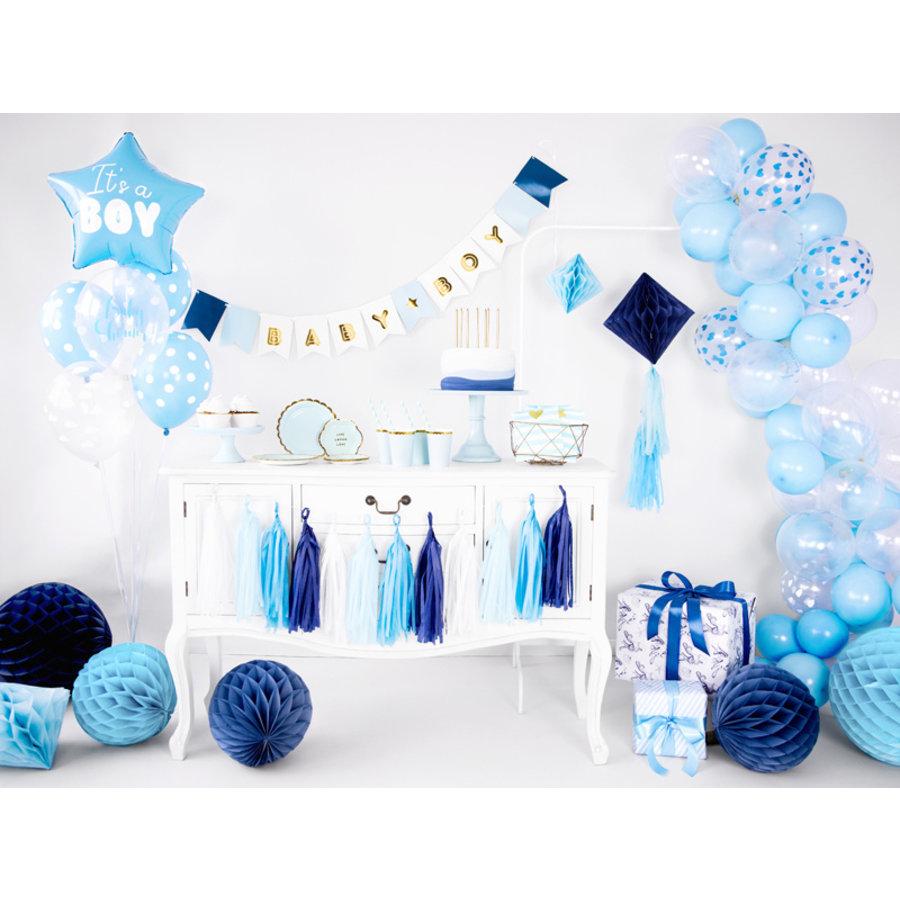 Ballonen its a boy blauw (6 stuks)-2