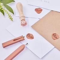 thumb-Cachet de cire  rosé love-2