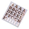 Perfect Decorations Lettersticker rosé (71 stuks)