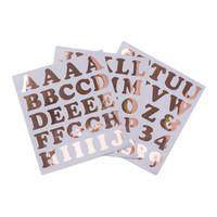 thumb-Lettersticker rosé (71 stuks)-2