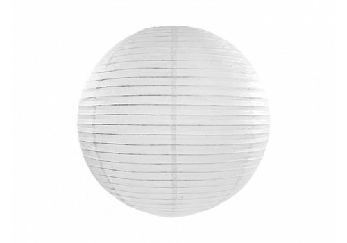 Lampion blanc diamètre 25 cm