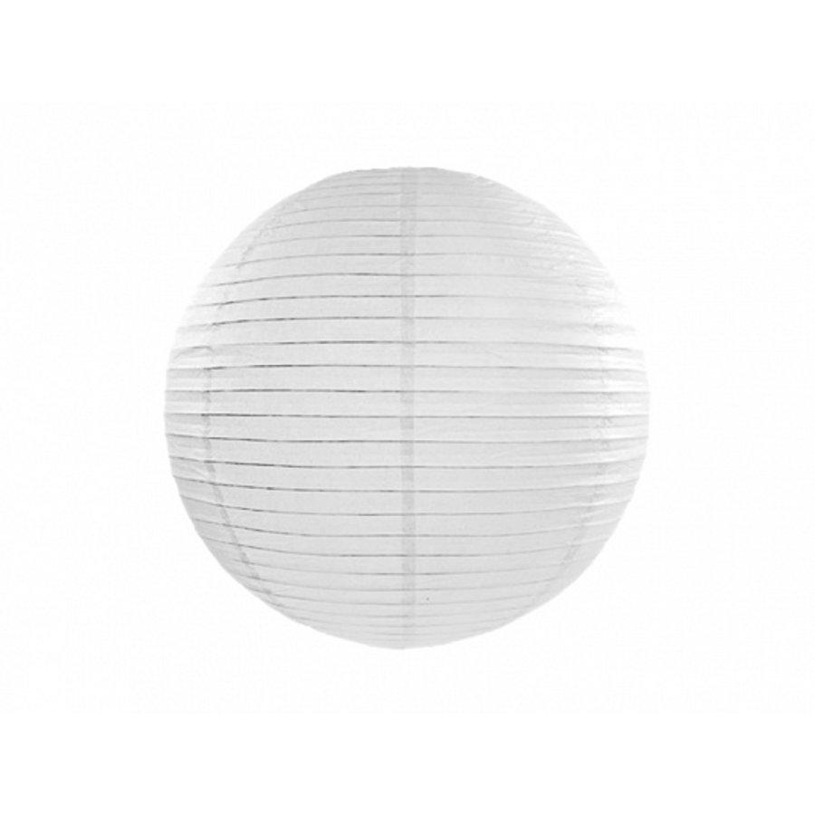 Lampion blanc diamètre 25 cm-1